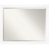 This item: White Frame 31W X 25H-Inch Bathroom Vanity Wall Mirror