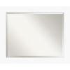 This item: White 33W X 27H-Inch Bathroom Vanity Wall Mirror