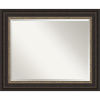 This item: Bronze 34W X 28H-Inch Bathroom Vanity Wall Mirror