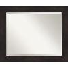 This item: Espresso 33W X 27H-Inch Bathroom Vanity Wall Mirror