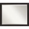 This item: Espresso 32W X 26H-Inch Bathroom Vanity Wall Mirror