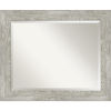 This item: Dove Gray 34W X 28H-Inch Bathroom Vanity Wall Mirror