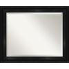 This item: Black 34W X 28H-Inch Bathroom Vanity Wall Mirror