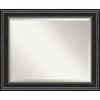 This item: Ridge Black 34W X 28H-Inch Bathroom Vanity Wall Mirror