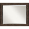 This item: Ridge Bronze 34W X 28H-Inch Bathroom Vanity Wall Mirror