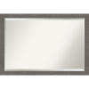 This item: Gray 39W X 27H-Inch Bathroom Vanity Wall Mirror