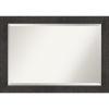 This item: Espresso Frame 41W X 29H-Inch Bathroom Vanity Wall Mirror