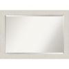 This item: Rustic Plank White 41W X 29H-Inch Bathroom Vanity Wall Mirror