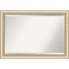 This item: Elegant Brushed Honey 41W X 29H-Inch Bathroom Vanity Wall Mirror