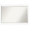 This item: White Frame 39W X 27H-Inch Bathroom Vanity Wall Mirror