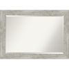 This item: Dove Gray 42W X 30H-Inch Bathroom Vanity Wall Mirror