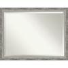 This item: Waveline Silver 44W X 34H-Inch Bathroom Vanity Wall Mirror