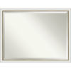 This item: Eva White and Gold 43W X 33H-Inch Bathroom Vanity Wall Mirror