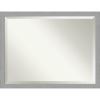 This item: Brushed Nickel 44W X 34H-Inch Bathroom Vanity Wall Mirror