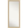 This item: Elegant Brushed Honey 29W X 65H-Inch Full Length Floor Leaner Mirror