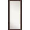This item: Harvard Walnut 29W X 65H-Inch Full Length Floor Leaner Mirror