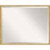 This item: Polished Brass and Gold 29W X 23H-Inch Decorative Wall Mirror