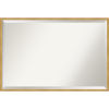 This item: Polished Brass and Gold 37W X 25H-Inch Decorative Wall Mirror
