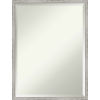 This item: Shiplap White 19W X 25H-Inch Decorative Wall Mirror