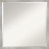 This item: Shiplap White 21W X 21H-Inch Decorative Wall Mirror