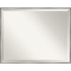 This item: Lucie White and Silver 29W X 23H-Inch Decorative Wall Mirror