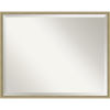 This item: Lucie Champagne 29W X 23H-Inch Decorative Wall Mirror