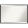 This item: Lucie Black 37W X 25H-Inch Decorative Wall Mirror