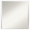 This item: Svelte White 21W X 21H-Inch Bathroom Vanity Wall Mirror