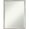 This item: Shiplap White 19W X 25H-Inch Bathroom Vanity Wall Mirror