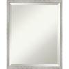 This item: Shiplap White 17W X 21H-Inch Bathroom Vanity Wall Mirror