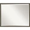 This item: Svelte Gray 29W X 23H-Inch Bathroom Vanity Wall Mirror