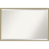 This item: Lucie Champagne 37W X 25H-Inch Bathroom Vanity Wall Mirror