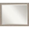 This item: Gray Frame 31W X 25H-Inch Bathroom Vanity Wall Mirror