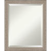 This item: Gray Frame 19W X 23H-Inch Bathroom Vanity Wall Mirror
