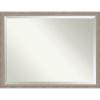 This item: Gray Frame 43W X 33H-Inch Bathroom Vanity Wall Mirror