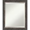 This item: Bark Brown 20W X 24H-Inch Bathroom Vanity Wall Mirror