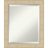 This item: Honey and Silver 20W X 24H-Inch Bathroom Vanity Wall Mirror