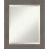 This item: Alta Brown and Gray 21W X 25H-Inch Bathroom Vanity Wall Mirror