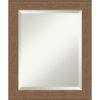 This item: Alta Brown 21W X 25H-Inch Bathroom Vanity Wall Mirror