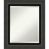 This item: Tuxedo Black 22W X 26H-Inch Bathroom Vanity Wall Mirror