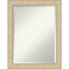 This item: Honey and Silver 22W X 28H-Inch Bathroom Vanity Wall Mirror