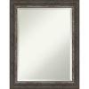 This item: Alta Rustic Brown 23W X 29H-Inch Bathroom Vanity Wall Mirror