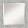 This item: Gray 25W X 25H-Inch Bathroom Vanity Wall Mirror