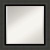 This item: Tuxedo Black 26W X 26H-Inch Bathroom Vanity Wall Mirror