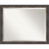 This item: Bark Brown 32W X 26H-Inch Bathroom Vanity Wall Mirror