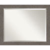 This item: Alta Brown and Gray 33W X 27H-Inch Bathroom Vanity Wall Mirror
