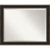 This item: Trio Bronze 33W X 27H-Inch Bathroom Vanity Wall Mirror