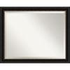 This item: Manhattan Black 32W X 26H-Inch Bathroom Vanity Wall Mirror