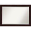 This item: Brown 41W X 29H-Inch Bathroom Vanity Wall Mirror