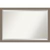 This item: Eva Brown 39W X 27H-Inch Bathroom Vanity Wall Mirror